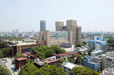 Central Clinical Service Bldg.2 (2006)Panoramic view of the current University of Tokyo Hospital